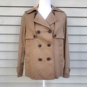 Liz Claiborne Double Breasted Trench Coat